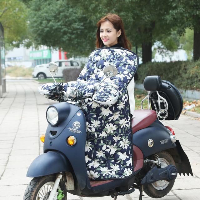 Các nhà sản xuất, bán buôn-made điện xe kính chắn gió là gió mùa đông lớn dày không thấm nước mùa đông xe máy pin xe mui xe Kính chắn gió