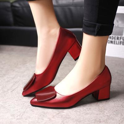 Giày cao gót nữ thời trang, màu sắc sang trọng, phong cách Hàn Quốc