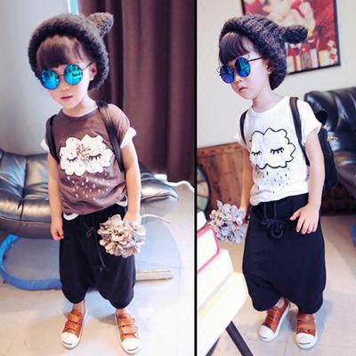 Áo thun bé trai thời trang, họa tiết ngộ nghĩnh, phong cách đáng yêu
