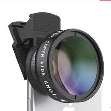 廠家批發0.45x超廣角微距鏡頭手機單反外置攝像頭 特效手機鏡頭