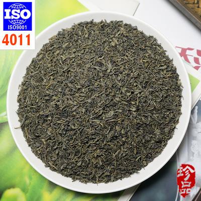 出口绿茶 眉茶4011 高品质Chunmee green tea茶叶加工厂证件齐全