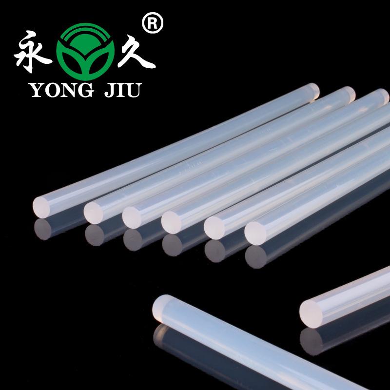 供应高级超透明热熔胶条,进口EVA弹性棒高粘度胶棒图片供应商厂家
