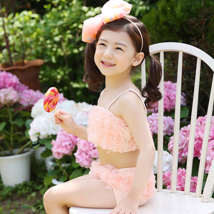 94a7ab2503 Korean children swimwear girls