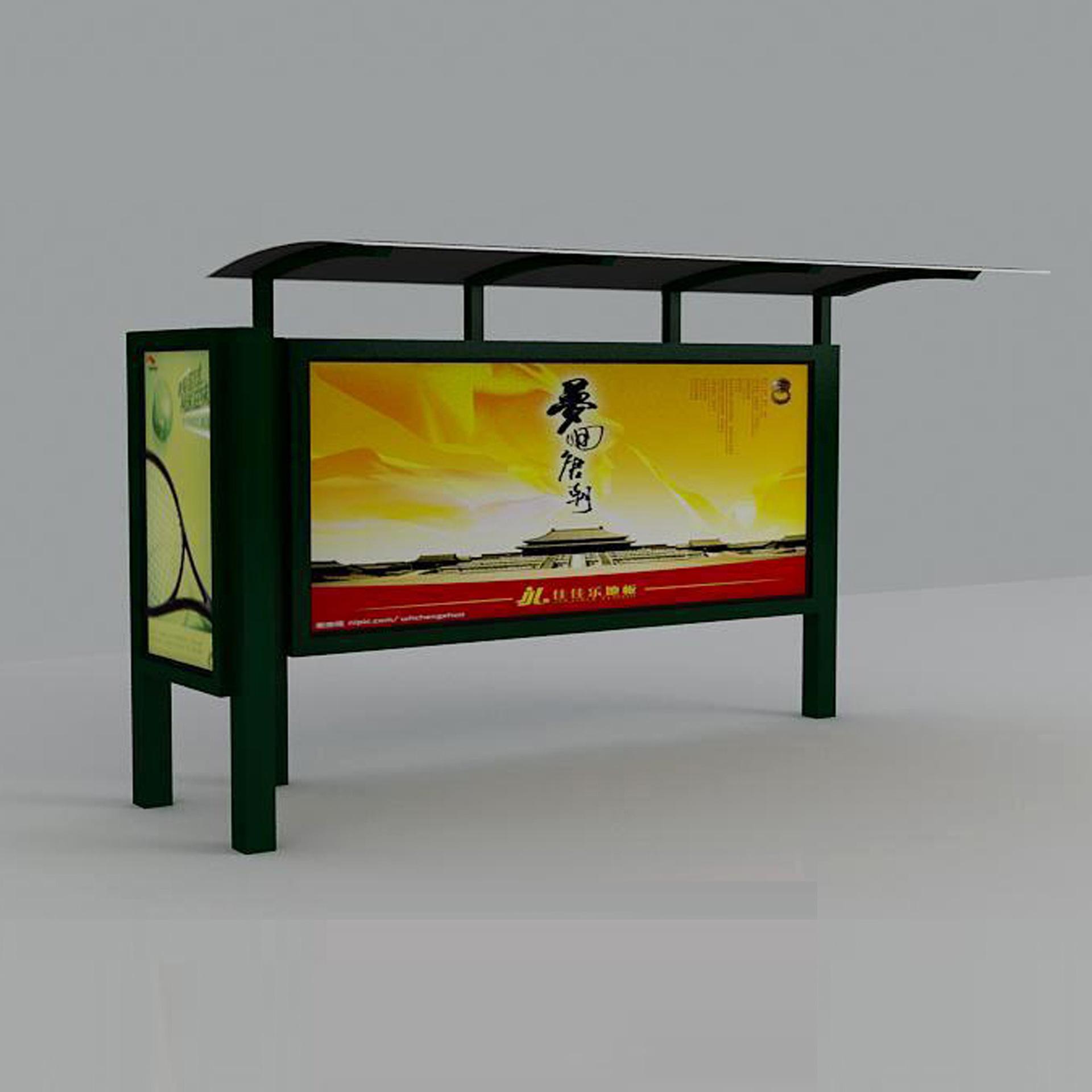 厂家定做候车亭灯箱,公交站台,候车厅广告灯箱,可包安装