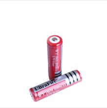 正品神火18650帶保護板大容量可充電強光手電筒電池鋰電池