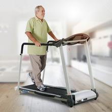 老人走步機電動跑步機家用多功能靜音折疊老年人健身運動器材