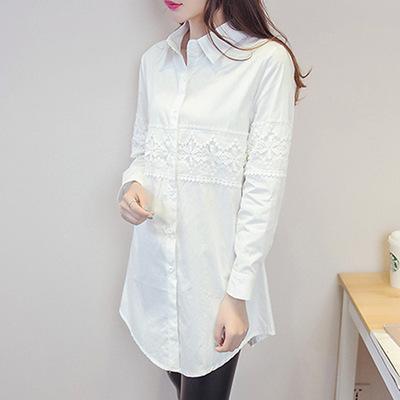Áo sơ mi nữ thời trang, thiết kế nữ tính trẻ trung, phong cách Hàn