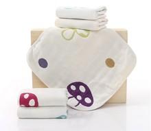 婴儿方巾 纯棉口水巾 六层纱布小手帕洗脸喂奶小毛巾益智.033