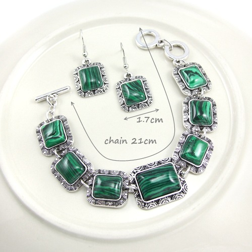 Alloy Vintage  earring  (green)  Fashion Jewelry NHAS0564-green