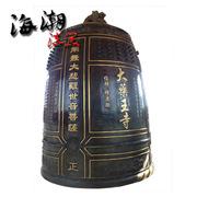 厂家定制各类寺庙用冬瓜型仿古铜钟 价格优惠做工精美 供佛教法器