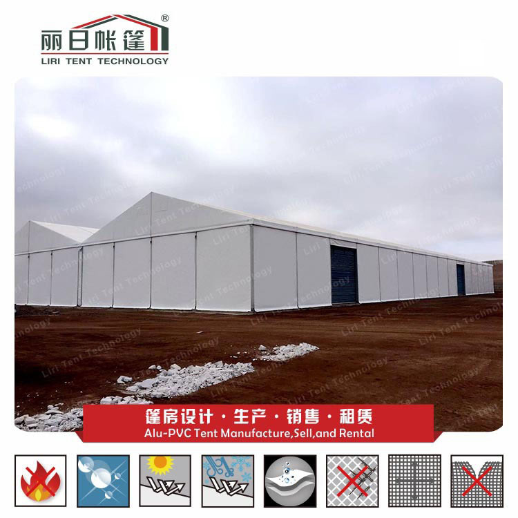2sets 20X80m tent with 6m side