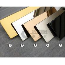 不锈钢踢脚线 不锈钢线条 天花吊顶线条 不锈钢收口条 不锈钢包边