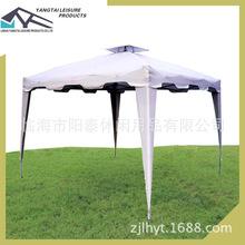 雙頂折疊帳篷Gazebo涼蓬戶外自動防嗮防紫外線遮陽蓬tent野營篷