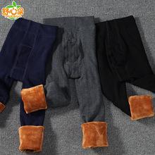 男童保暖褲加絨加厚打底褲兒童冬季加厚保暖褲童裝棉褲打底褲批發