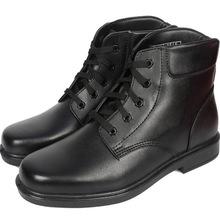 冬季配发正品校尉常服07士兵绒皮鞋寒区羊毛保暖军官棉鞋男真皮靴