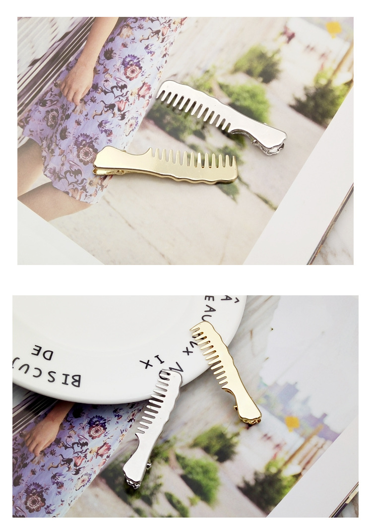 Korean new alloy small comb hairpin  NHDQ312775
