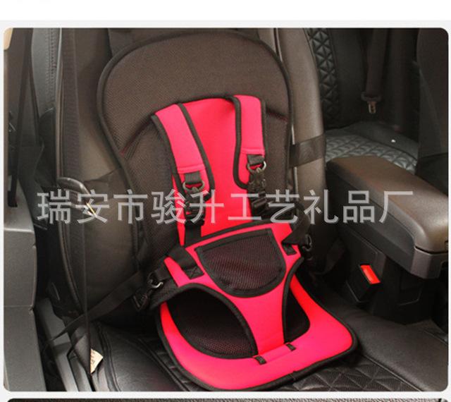 新款便携式简易汽车儿童安全座椅 小孩汽车安全座椅 汽车安全用品