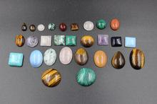 批發直銷界面定做 天然綠松石紫晶瑪瑙虎石等各大小 可來圖定做