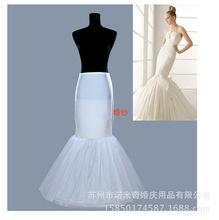 批發外貿婚紗禮服 暴力魚尾日常裙撐  新娘結婚專用婚紗黑色襯裙