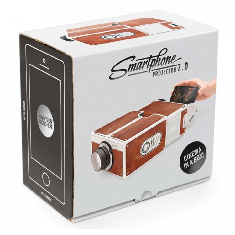 新款手机投影仪 手工DIY二代小型全息投影 SmartPhone Projector