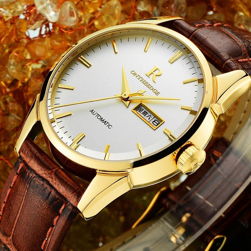 正品品牌瑞士手表防水男士手表真皮皮带男表厂家手表批发诚招代理