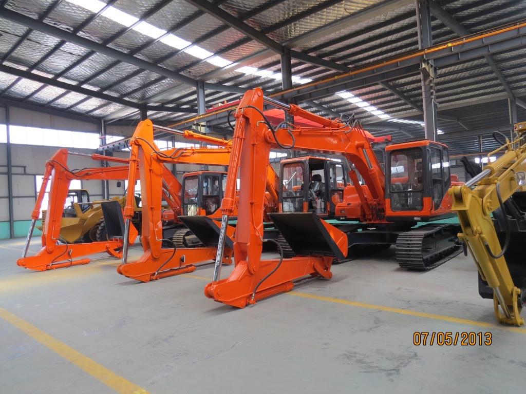 徐州啟揚150挖掘機式加長臂履帶式卸煤機