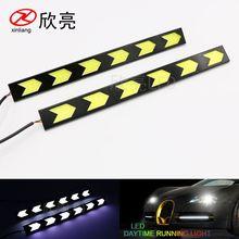 厂家直销 汽车LED灯 箭型 高亮防水 COB大功率 改装日间行车灯