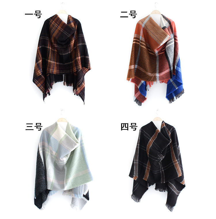 Japan and South Korea sweet Imitation cashmereCashmere scarf (4th -200x90cm)NHNBS1797-4th -200x90cm
