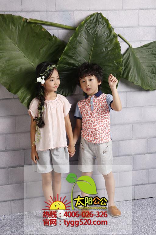 太陽公公童裝加盟(高青縣)太陽公公童裝廣告-一針一線  透出對時尚的向往與崇拜