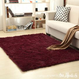 Modern silk carpet living room rectangular coffee table sofa bedside carpet bedroom mat