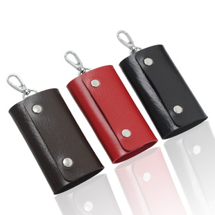 Factory direct sale high-end exquisite leather key case key case wholesale customization