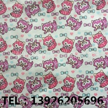 Printed canvas fabric PVC Coated  Cotton Bags shoes clothing