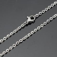 廠家直銷 316不銹鋼飾品批發 新款鈦鋼情侶配鏈單鏈 O字項鏈