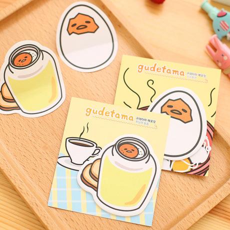 Nhà máy trực tiếp mới lười ghi chú trứng dính N lần dán lon trong sổ ghi chú trứng vỡ trứng miễn phí dán bán buôn