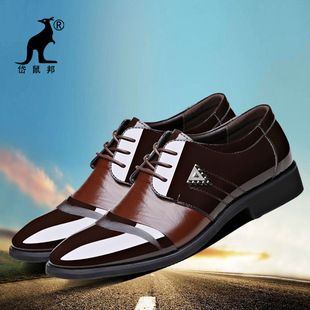 Aofu Shoes 2201 Customized Spring Business Lace-up Formal Shoes Men's Pointed Fashion Leather Shoes