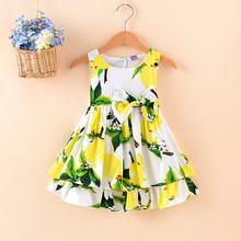 廠家直銷 夏季童裝兒童無袖公主裙 歐美風女童連衣裙 外貿童裙