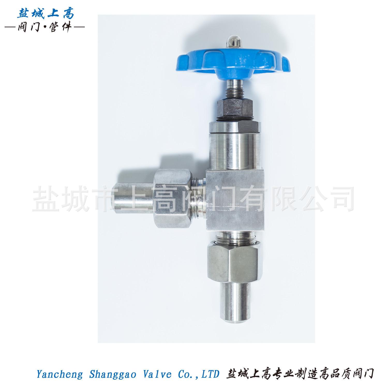 厂家批发 上高不锈钢微型仪表阀针阀 角式焊接仪表阀 精密制造