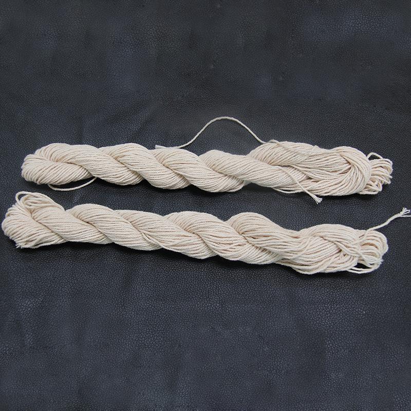 黄色棉封包线建筑工地施工线 面袋封口线 纯棉缝包机线 打包线