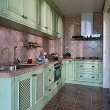 名流美迪美克整体全实木定制家具厨房定制橱柜开放式厨房厂家定制