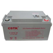 CSTK UPS不間斷電源 12V65AH UPS鉛酸免維護蓄電池 太陽能電池