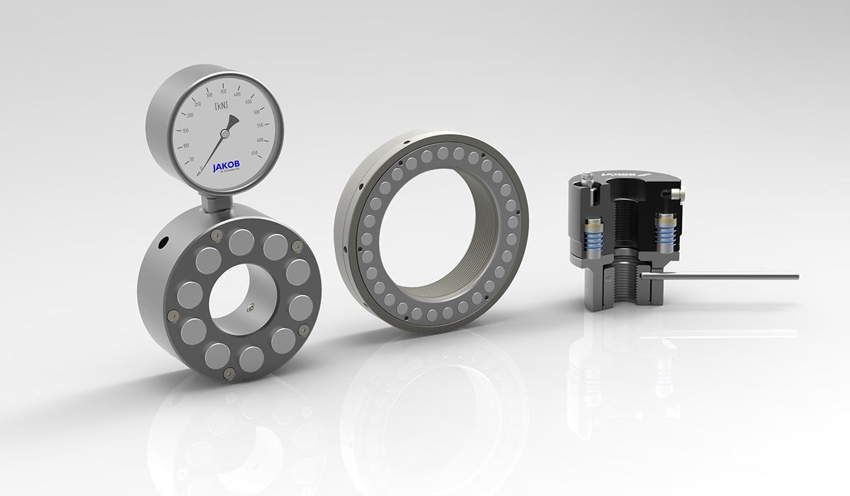 工程应用定制液压增力螺母