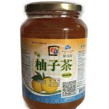 供应   奶茶专用 1kg *12瓶   纯果肉饮品    韩国金香蜂蜜柚子茶