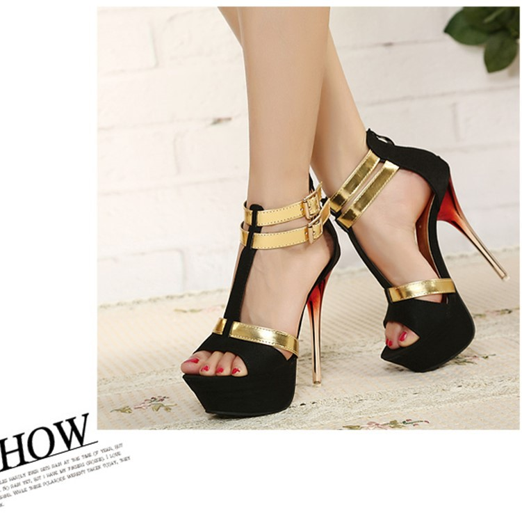 Summer new recommended European and American sexy nightclub ladies shoes SO190424119015