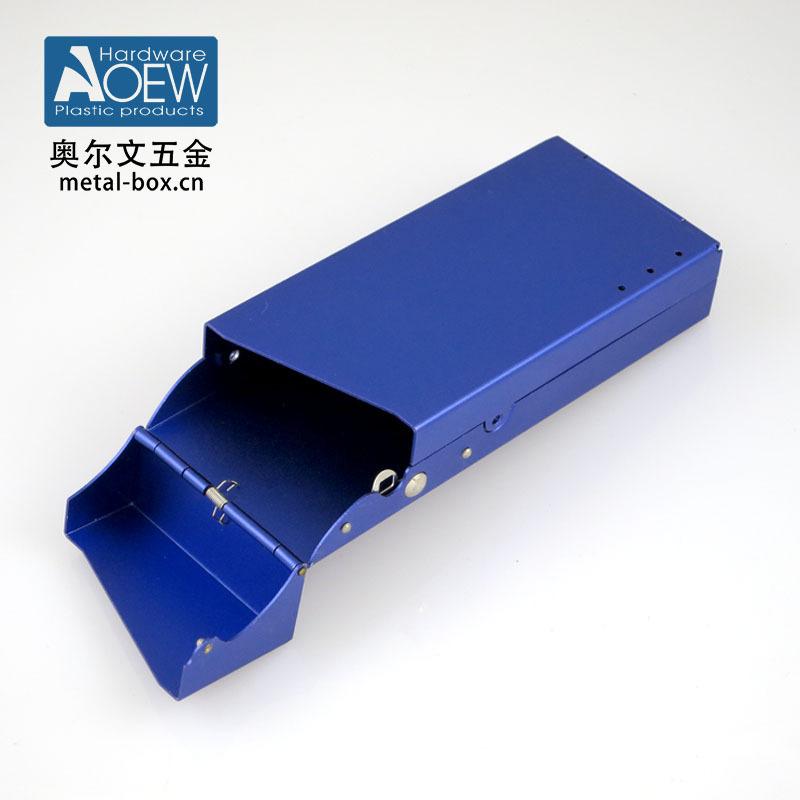 廠家定制 精工鋁制噴砂電子煙包裝盒 鋁制電子煙盒