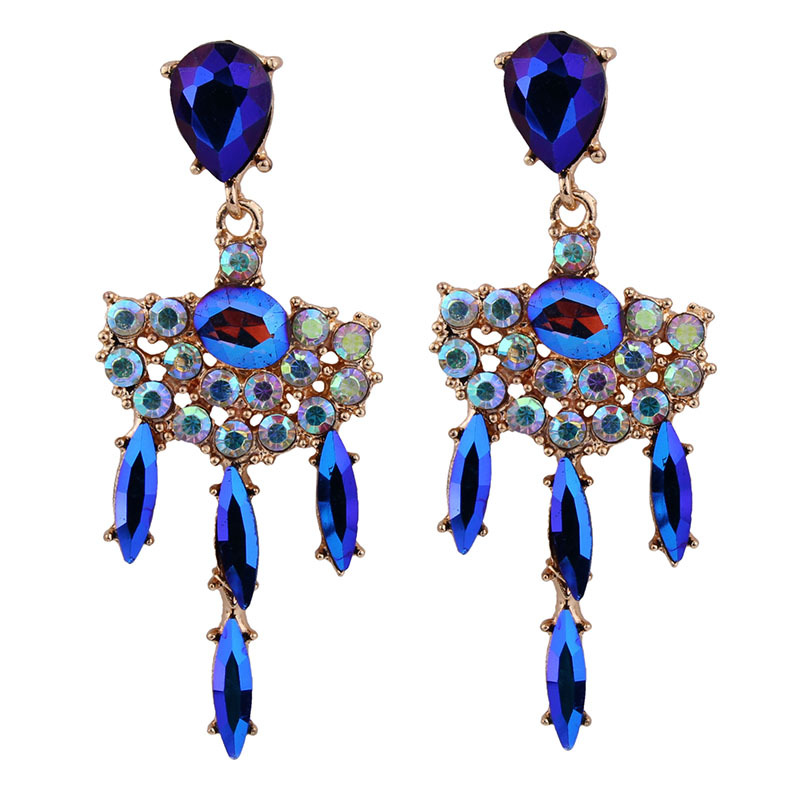 Occident and the United States alloy  earring white NHJQ7360
