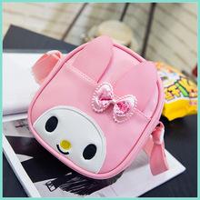 新款韩版可爱儿童小兔子斜挎包公主包小女孩卡通斜跨书包零钱包