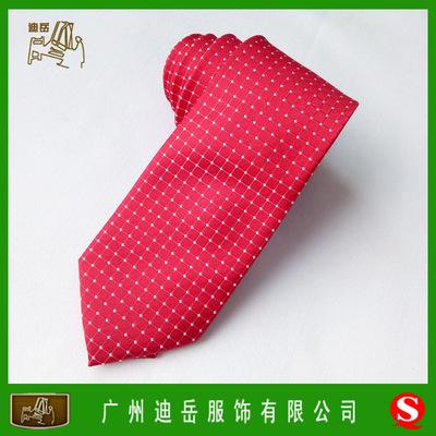 广州男装品牌领带批发 涤纶丝提花领带定做 广州男装领带贴牌加工