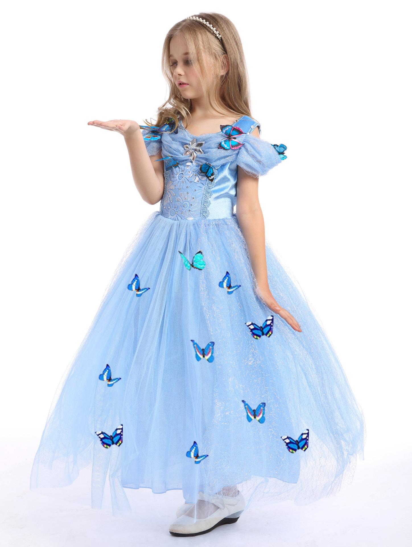 Kids Girl Princess Cinderella Dress | 11street Malaysia - Dresses