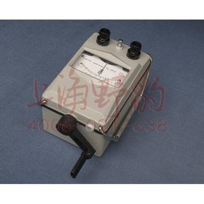 ZC11D-5 手摇式兆欧表 指针式绝缘电阻测试仪 摇表