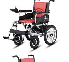 包郵貝珍電動輪椅車電動代步車折疊輕便殘疾人老人智能輪椅6401